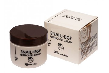 Крем-гель для лица с муцином улитки Secret Skin Snail + EGF Perfect Gel Cream (SS-04)