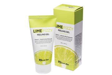 Пилинг-скатка с экстрактом лайма и витамином С Secret Skin Lime Fizzy Peeling Gel (SS-17)