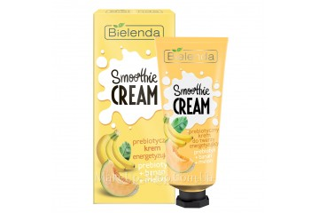 Банан и Дыня пребиотический крем для лица Bielenda Smoothie Cream Banan+Melon