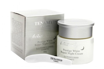 Ночной восстанавливающий крем для лица Tenamyd Canada Prestige White Repair Night Cream