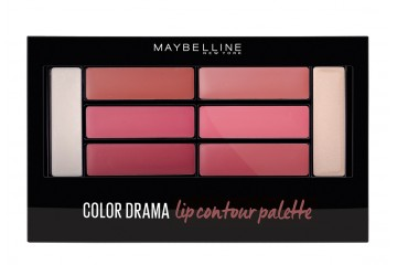 Палетка помад Maybelline Color Drama Lip contour palette