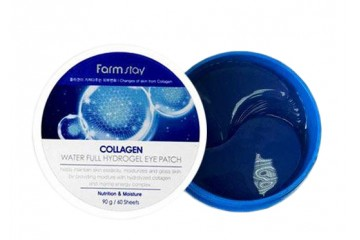 Гидрогелевые патчи c коллагеном FarmStay Collagen Water Full Hydrogel Eye Patch