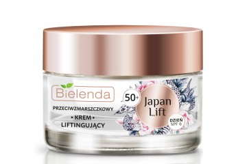 Дневной лифтинг крем для лица Bielenda Japan Lifting Face Cream 50+ SPF 6