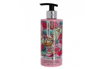 Лосьон для тела Vivian Gray Aroma Selection Raspberry & Rose Body Lotion