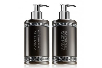 Набор для тела Vivian Gray Grey Crystals Set Cream Soap & Hand Lotion