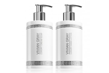 Набор для тела Vivian Gray White Crystals Set Cream Soap & Hand Lotion