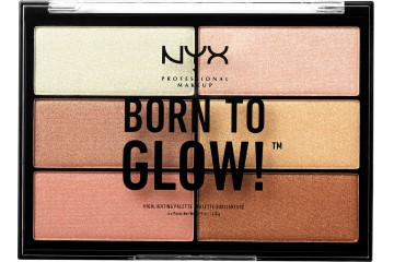 Палетка хайлайтеров NYX Born To Glow Highlighting Palette