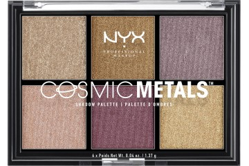 Палетка теней NYX Cosmic Metals Shadow Palette