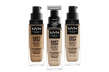 Тональная основа NYX Can't Stop Won't Stop Full Coverage Foundation