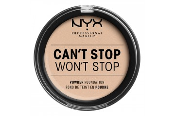 Пудра для лица NYX Can`t Stop Won`t Stop Full Coverage Powder Foundation