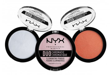 Хайлайтер для лица NYX Duo Chromatic Illuminating Powder