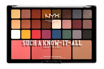 Палитра для макияжа NYX Such A Know-It-All Palette Vol.1