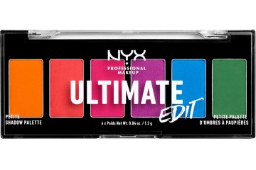 Brights Палетка теней для век NYX Ultimate Edit Petite Shadow Palette