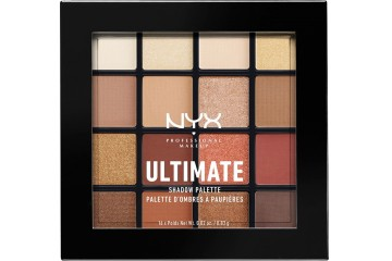 Warm Neutrals Палетка теней для век NYX Ultimate Shadow Palette