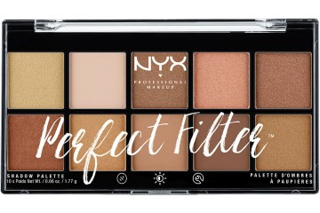 Golden Hour палетка теней NYX Perfect Filter Shadow Palette