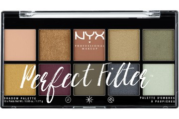 Olive You палетка теней NYX Perfect Filter Shadow Palette