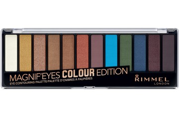 Colour Edition Палетка теней Rimmel Magnif'Eyes Eyeshadow Palette