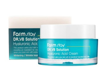 Крем для лица с гиалуроновой кислотой FarmStay Dr. V8 Solution Hyaluronic Acid Cream
