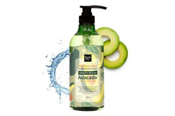 Гель для душа с экстрактом авокадо FarmStay Tropical Fruit Perfume Body Wash Avocado