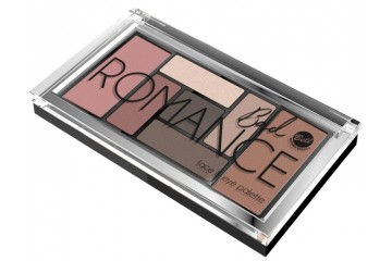 Палетка для век и лица Bell Cosmetics Bad Romance Eye and Face Palette