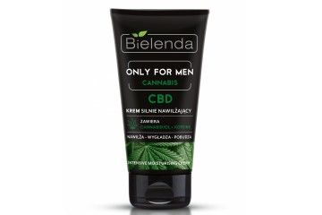 Увлажняющий крем для лица Bielenda Only for men Cannabis Intensive Moisturising Cream