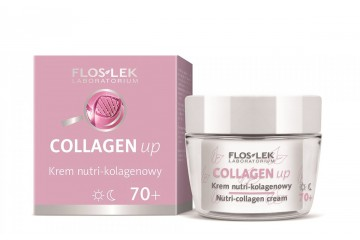 Коллагеновый крем для лица Floslek Collagen Up Nutri-collagen Cream 70+