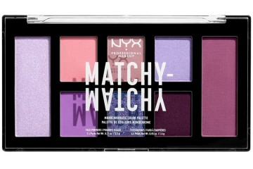 Lilac Монохромная палитра NYX cosmetics Matchy-matchy Monochromatic Color Palette