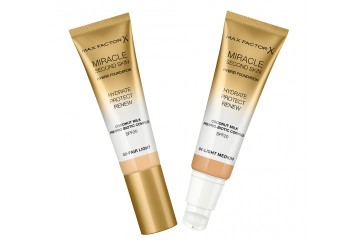Тональная основа Max Factor Miracle Second Skin