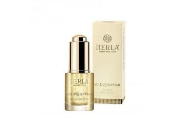 Сухое масло для лица Herla Gold Supreme 24K Gold Face Dry Oil