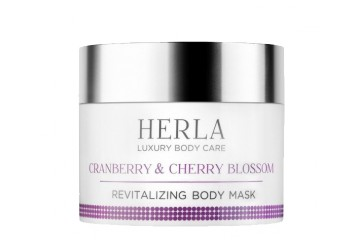 Восстанавливающая маска для тела Herla Luxury Body Care Cranberry & Cherry Blossom Revitalizing Body Mask