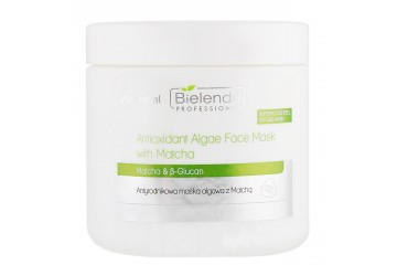Антиоксидантная альгинатная маска для лица с Матча Bielenda Professional Antioxidant Algae Face Mask With Matcha