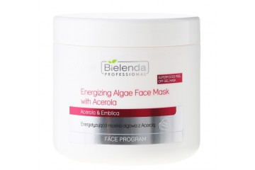 Альгинатная маска для лица с ацеролой Bielenda Professional Energizing Alfae Face Mask with Acerola