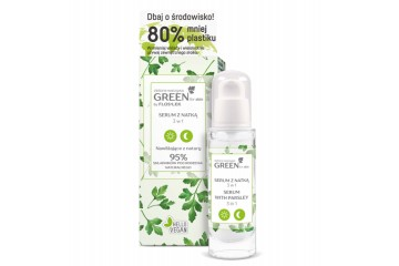 Сыворотка для лица с петрушкой Floslek GREEN for skin Serum with parsley 3 in 1