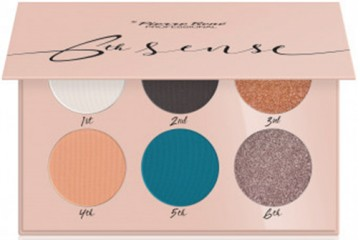 07 Salmon Tangle Палетка теней Pierre Rene 6th Sense Eyeshadow Palette