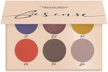08 Ocean Sunset Палетка теней Pierre Rene 6th Sense Eyeshadow Palette
