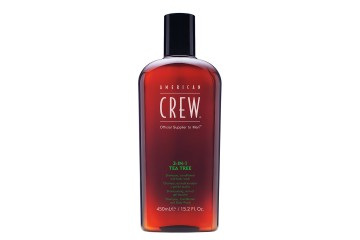 Шампунь 3 в 1 American Crew 3-in-1 Tea Tree Shampoo + Conditioner + Body wash
