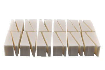Блок из 24 спонжей Make-Up Studio Wedged Sponge Block 24 pcs