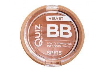 Компактная ВВ пудра Quiz Beauty Correcting Soft Focus Powder SPF15