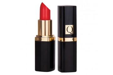 Помада увлажняющая Quiz Luxurious Lipstick Q with Vitamin A, E