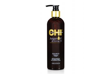 Восстанавливающий шампунь с аргановым маслом CHI Argan Oil Plus Moringa Oil Shampoo 739 мл