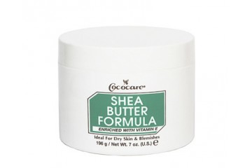 Густое масло Ши для тела Cococare Shea Butter Formula Enriched with Vitamin E