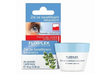 Гель для век с очанкой Floslek Lid And Under Eye Gel With Eyebright