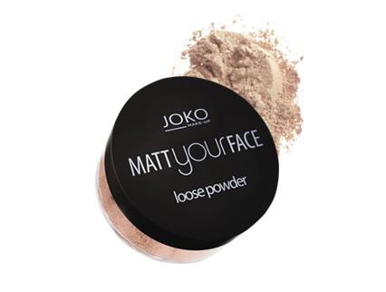 Купить матирующую рассыпчатую пудру JOKO Matt your face Loose powder ... a8b235c98d0