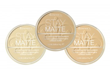 Матирующая пудра Stay Matte Rimmel Long Lasting Pressed Powder