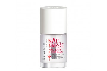 База и верхнее покрытие для ногетй Rimmel Nail Nurse Nail Base & Top Coat