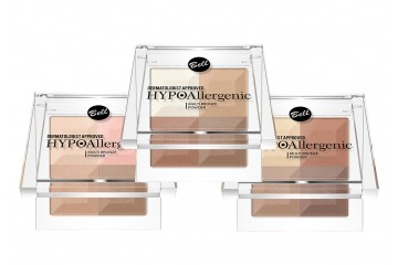 Палетка бронзеров для лица Bell HYPOAllergenic Multi Bronze Powder