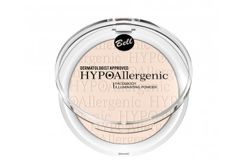 Пудра хайлайтер для лица Bell HYPOAllergenic Face&Body Illuminating Powder