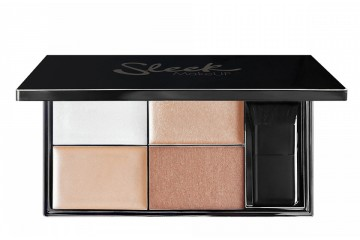 Precious Metals палетка хайлайтеров Sleek MakeUp Highlighting Palette